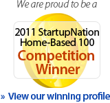 StartupNation Top 100 Home-Based Busineses Award